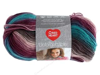 yarn: Red Heart Unforgettable Yarn 270 yd. #3952 Tealberry
