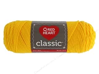yarn: Red Heart Classic Yarn 190 yd. #1270 Golden Yellow