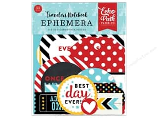 die cuts: Echo Park Collection Travelers Notebook Mouse & Me Ephemera