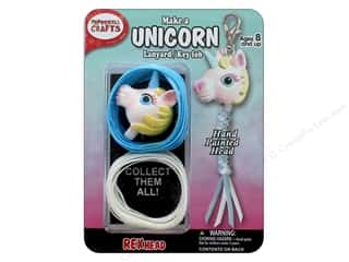 beading & jewelry making supplies: Pepperell Kit Rexheads Keychain Unicorn