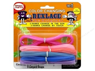 beading & jewelry making supplies: Pepperell Craft Lace Rexlace Color Change
