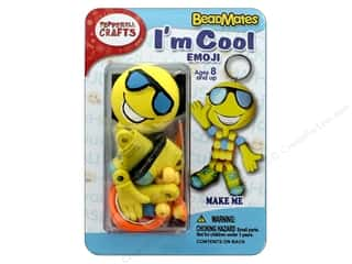 projects & kits: Pepperell Kit Beadmates I'm Cool Emoji