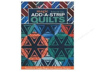 C&T Publishing Magic Add-A-Strip Quilts Book