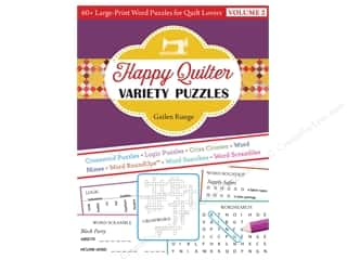 C&T Publishing Happy Quilter Variety Puzzles Volume 2 Book
