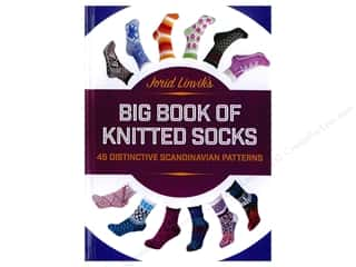 Trafalgar Square Jorid Linviks Big Book of Knitted Socks Book