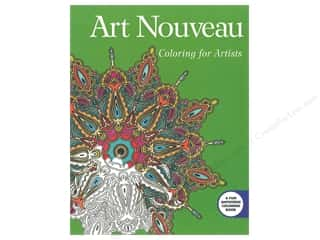 Skyhorse Publishing Art Nouveau Coloring For Artists Book