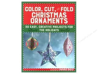 Skyhorse Publishing Color Cut And Fold Christmas Ornaments Book