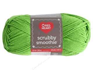 yarn & needlework: Red Heart Scrubby Smoothie Yarn 153 yd. #9237 Lime