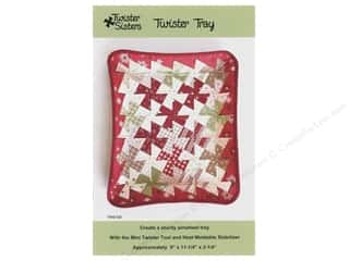 books & patterns: Twister Sisters Twister Tray Pattern