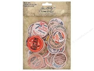 Tim Holtz Idea-ology Milk Caps