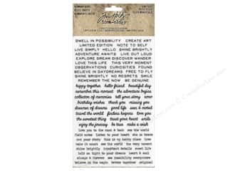 scrapbooking & paper crafts: Tim Holtz Idea-ology Remnant Rubs Tiny Text