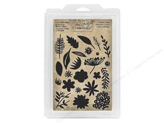 Tim Holtz Idea-ology Foam Stamp Cutout Floral