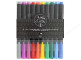 American Crafts Collection Kelly Creates Pen Fineliners 10 pc Multicolor