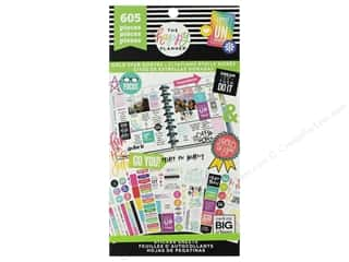 Me&My Big Ideas Happy Planner Sticker Value Pack Gold Star Quotes