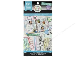 Me&My Big Ideas Collection Create 365 Happy Planner Sticker Value Pack Colorful Boxes