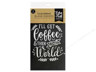 Echo Park Collection Travelers Notebook Coffee & Friends Notebook Insert Blank