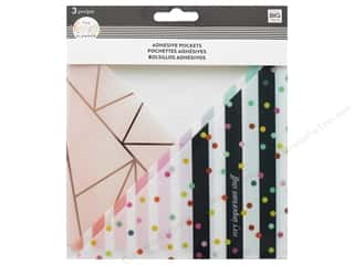 Me&My Big Ideas Collection Create 365 Happy Planner Adhesive Pocket Stripe