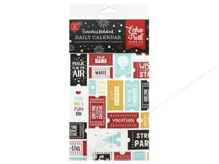 Echo Park Collection Travelers Notebook Wish Upon/Star Notebook Insert Daily