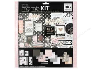 "12x12 white cardstock: Me&My Big Ideas Page Kit Scrapbook 12""x 12"" Black White Rose"