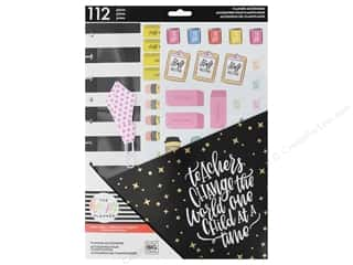 Me&My Big Ideas Happy Planner Accessory Pack Big Teachers Gonna Teach
