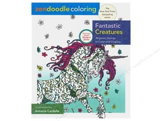 St Martin's Griffin Zendoodle Color Fantastic Creatures Book