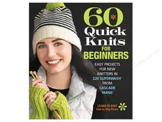 60 Quick Knits for Beginners Book