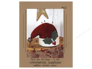 Cottonwood Creations Santa Hat Pin Keep Pattern