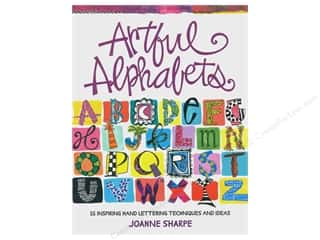 scrapbooking & paper crafts: North Light Artful Alphabets Book