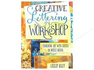 scrapbooking & paper crafts: North Light Creative Lettering Workshop Book