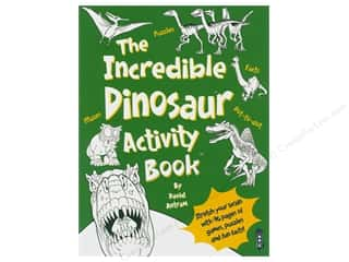 books & patterns: Book House Incredible Dinosaur Activity Book