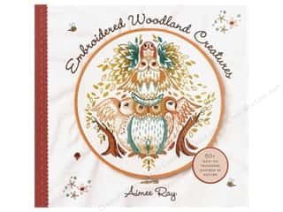 Embroidered Woodland Creatures Book
