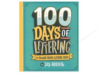 scrapbooking & paper crafts: Lark 100 Days Of Lettering Book