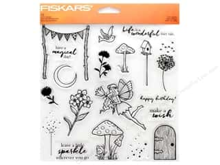 stamps: Fiskars Stamp Clear Fairy Garden
