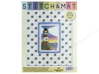 yarn & needlework: Design Works Stitch & Mat Kit Lighthouse