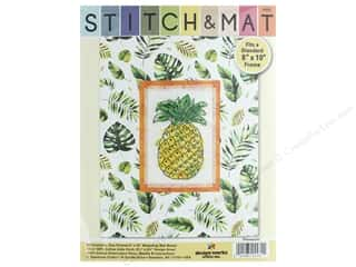 yarn & needlework: Design Works Stitch & Mat Kit Pineapple