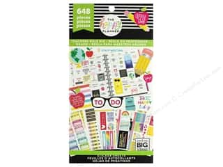 Me&My Big Ideas Happy Planner Sticker Value Pack Teachers Rule Big