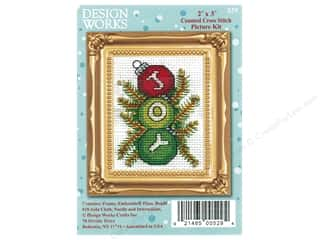 projects & kits: Design Works Counted Cross Stitch Kit 2 x 3 in. Joy