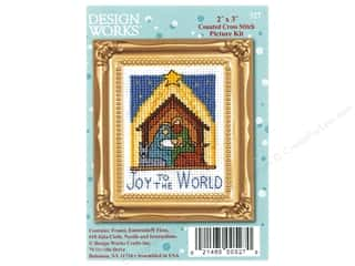 yarn & needlework: Design Works Counted Cross Stitch Kit 2 x 3 in. Nativity