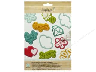 American Crafts Collection Sweet Sugarbelle Cookie Cutter & Stamp Set All Occasions