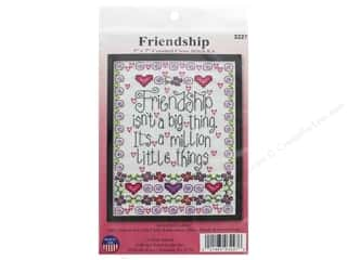Design Works Counted Cross Stitch Kit 5 x 7 in. Friendship