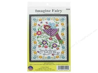 Design Works Counted Cross Stitch Kit 5 x 7 in. Imagine Fairy