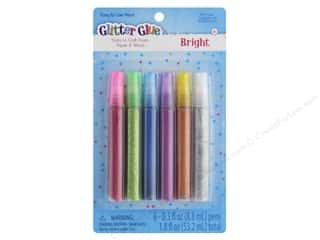 glues, adhesives & tapes: Sulyn Glitter Glue Pen 6 pc Bright