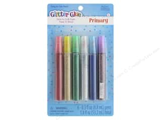 Sulyn Glitter Glue Pen 6pc Primary