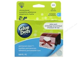 craft & hobbies: Glue Dots Permanent 1/2 in. Value Pack 600 pc