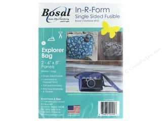 Bosal In R Form Foam Stabilizer Fusible Single Side Explorer Bag