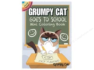 books & patterns: Dover Publications Little Grumpy Cat Goes To School Coloring Book