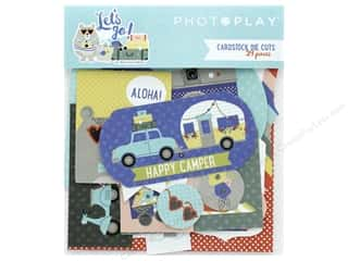 die cuts: Photo Play Collection Lets Go Die Cut Pack