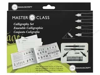 craft & hobbies: Manuscript Masterclass Calligraphy Set