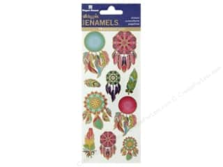 Paper House Sticker Enamel Dreamcatcher