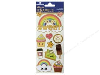 scrapbooking & paper crafts: Paper House Faux Enamel Stickers - Kawaii